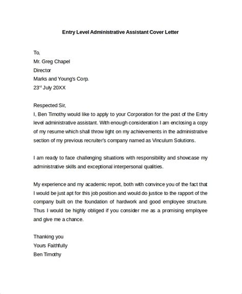 sample cover letter templates ms
