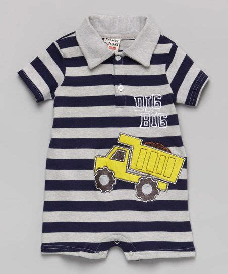 Romper Truck Stripe 2263 best for the images on babies babys