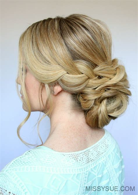 Wedding Hairstyles Braids Low Bun by 25 Low Bun Hairstyles That You Can Create Yourself
