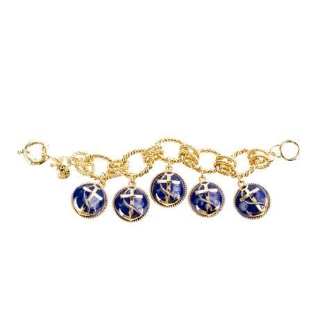 anchor bead charm bracelet j crew