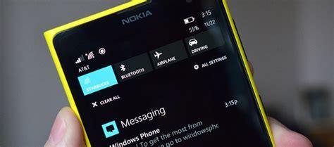 zarządzaj powiadomieniami w telefonach z systemem windows