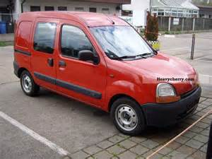 Renault Kangoo 2002 Renault Kangoo 2002 Box Type Delivery Photo And Specs