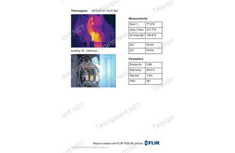 flir t400 nist thermal imaging infrared camera with nist