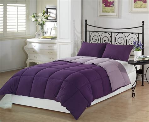 purple bed sets total fab deep dark purple comforters bedding sets