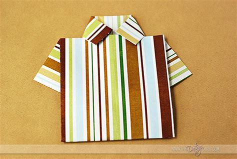 tutorial origami shirt origami shirt and tie tutorial
