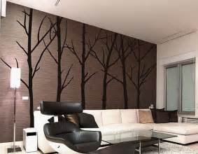 Wall Art Stickers For Living Room Luxurious Living Room Design With Winter Tree Wall Art Decals