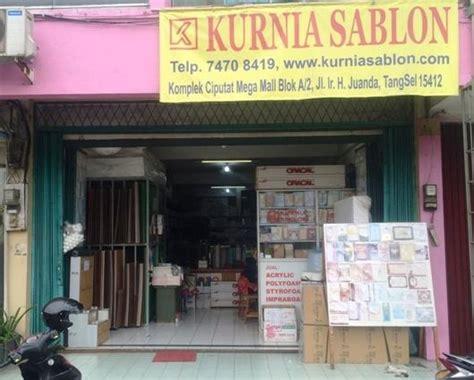 Acrylic Tangerang toko kurnia sablon tangerang selatan
