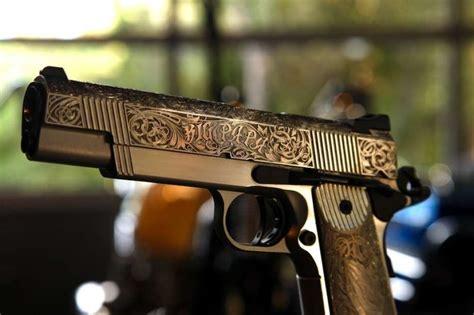 Handmade Pistol - brad pitt get custom pistols from