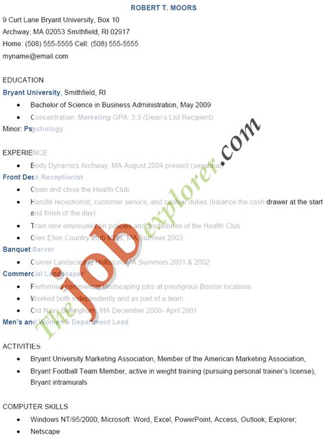 46 elegant sample resume for receptionist how to wiring