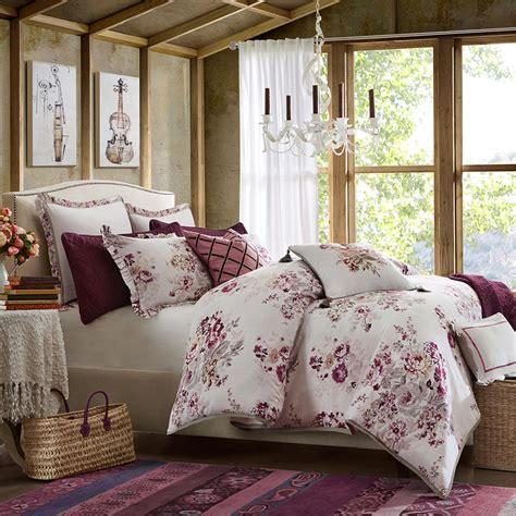 hton hill vintage floral comforter set