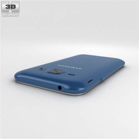 Samsung J1 Blue samsung galaxy j1 blue 3d model hum3d