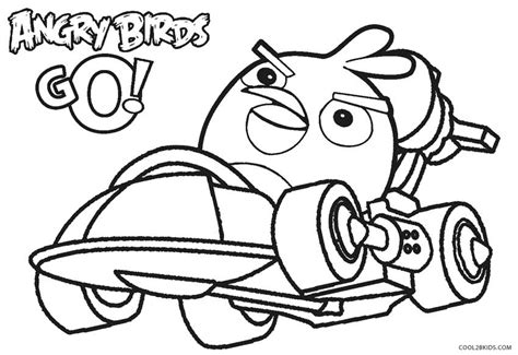 free coloring pages of angry birds go