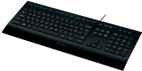 Keyboard Elektronik logitech k280e keyboard usb black at reichelt elektronik