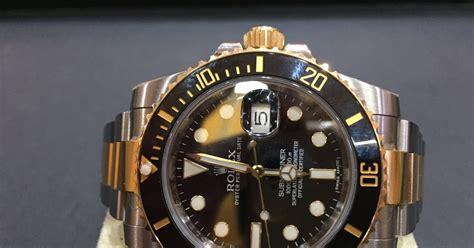 Jam Tangan Rolex Chanyeol jual beli jam tangan second mewah original arloji bekas original sold rolex submariner