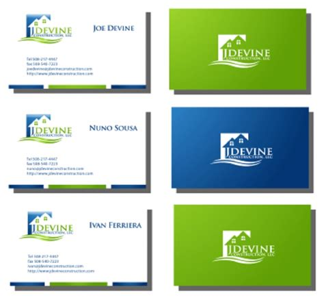 Business Cards Templates You Can Print At Home 100 free business card templates to print at home