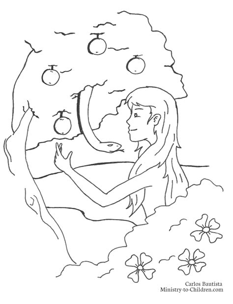 coloring page adam and stunning adam and serpent coloring page with adam and