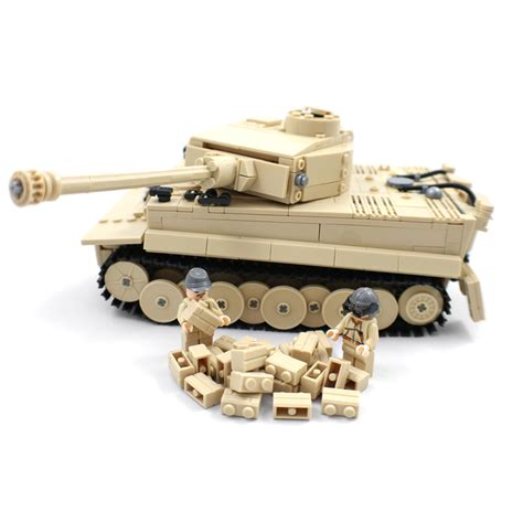 Lego Compatible Heavy Barrey Part Rifle panzer vi tiger tank building block