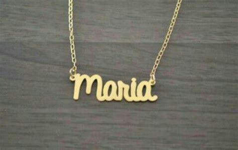 cadenas con nombre chapa de oro dijes nombres y pulceras etc en chapa de oro 155 00