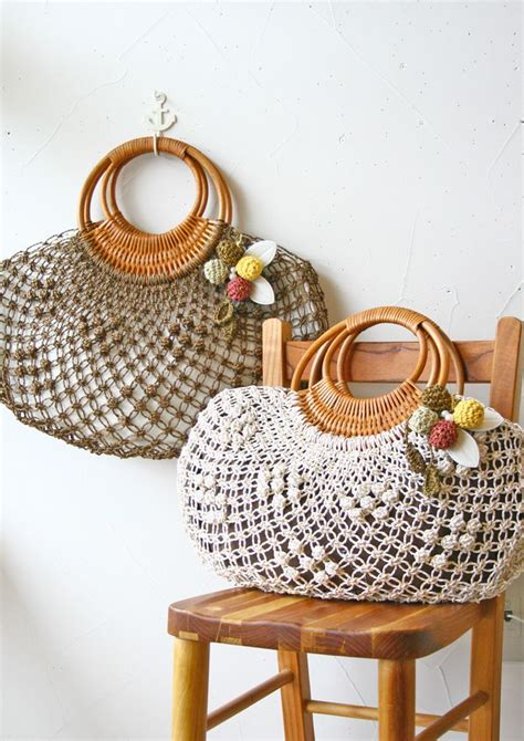 Macrame And Crochet - macrame bags sac crochet macrame bag