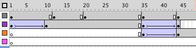 flash tutorial keyframes inserting keyframe into the text layer