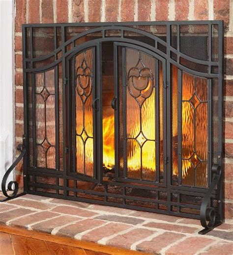 Christmas Deals 2012 On Large Two Door Floral Fireplace Oversized Fireplace Screens