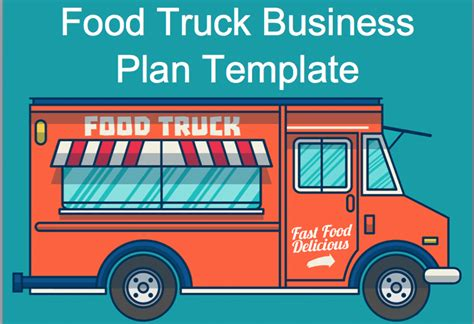Food Truck Business Plan Black Box Business Plans Food Truck Business Plan Template