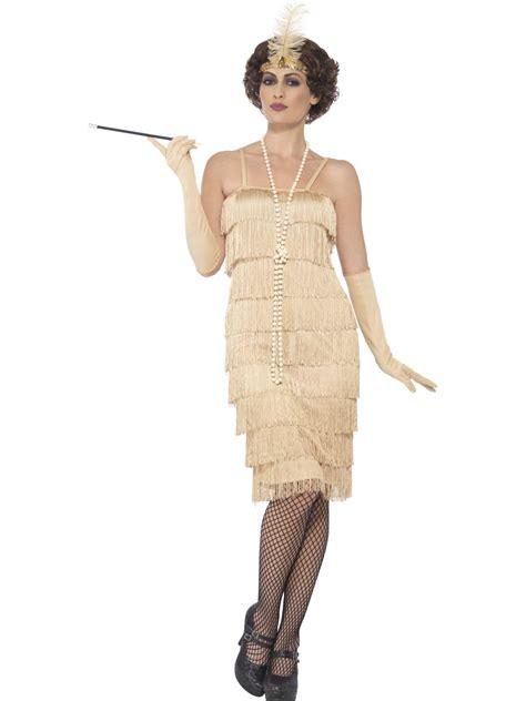 great gatsby themed fancy dress 1920s flapper fancy dress costume long gold great gatsby