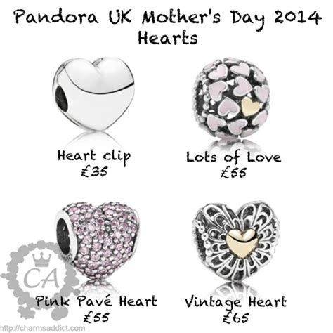 pandora s day 2014 uk release charms addict