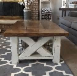 farmhouse coffee table plans diy chunky farmhouse coffee table diy woodworking plans