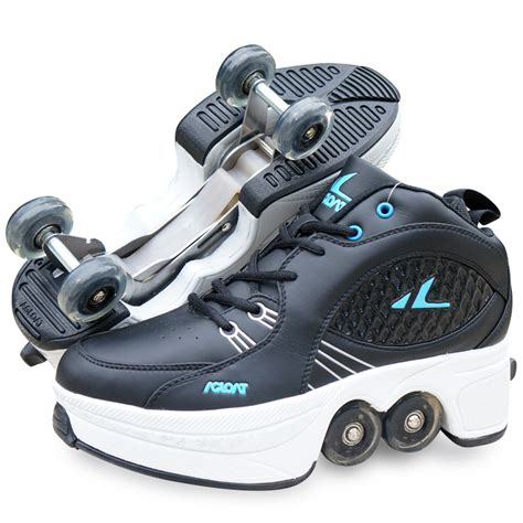 sneakers with wheels for adults aliexpress popular heelys shoes adults in shoes