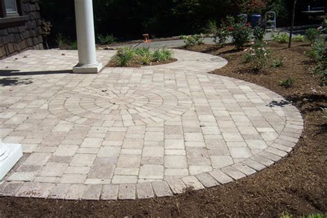 Unilock Brussels Pavers paving patio installation by brandon landscape pittsburgh s landscape design specialists
