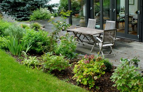 pflanzen für nordseite terrasse bepflanzen dekor