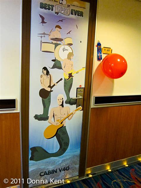 Cruise Door Decorations Cruise Door Decorations On Honeymoon Cruises
