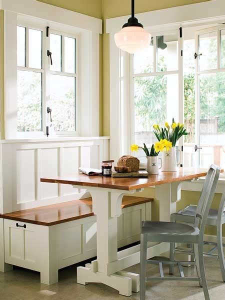 galley kitchen with breakfast nook k 252 chenbank ideales m 246 belst 252 ck f 252 r kleine k 252 chen
