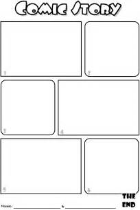 printable blank comic template for comic book template coloring pages