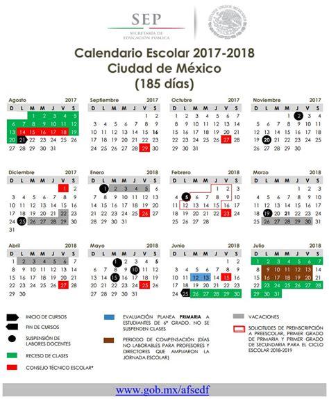 calendario escolar argentina 2017 2018 calendario escolar 2017 2018 autoridad educativa