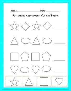 kindergarten pattern assessment 81 best images about ms delveaux s kindergarten and first