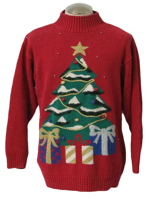knitting pattern ugly christmas sweater ugly christmas sweater retro look laura gayle unisex