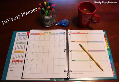 diy decorations 2017 diy 2017 calendar planner