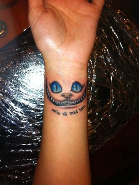 tattoo cat alice wonderland 30 alice in wonderland tattoo designs with meaning