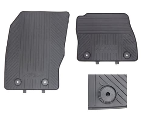 Ford Focus Floor Mats by Genuine Ford Focus 2015 Onwards Front And Rear Rubber