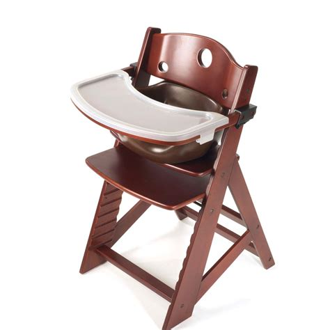 keekaroo high chair keekaroo height right high chair with infant insert tray