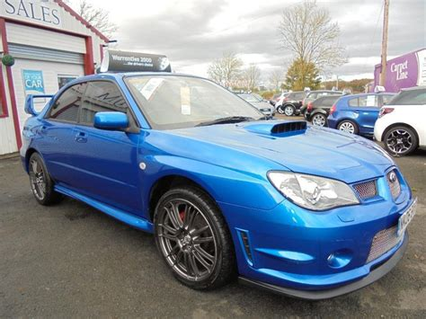 subaru wrx turbo location subaru impreza wrx turbo type uk 4dr blue manual petrol