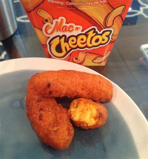 Mac N Cheetos oh the humanity we try burger king s mac n cheetos