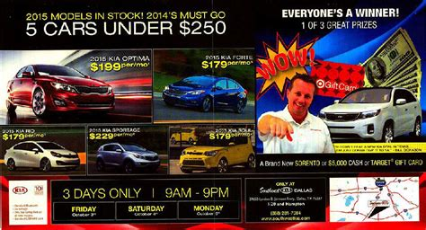 Kia Dealers Dallas Dallas Kia Dealer Fined 85 000 For Deceptive Ads Motorshout