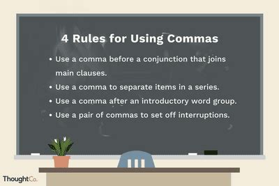 practice in using commas and semicolons correctly