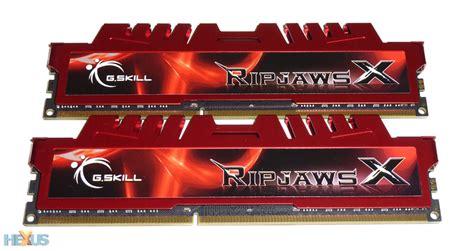 Ram G Skill review g skill ripjawsx f3 17000c11d 8gbxl ram