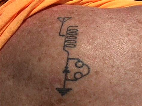 radio tattoo ham radio tattoos by roger j wendell wb 216 jnr wb0jnr