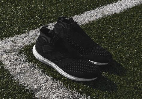 Adidas Ace 16 Purecontrol Ultra Boost Chagne adidas pairs ultra boost with the a primeknit version of the ace 16 sneakernews