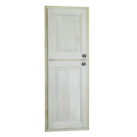 wg wood products medicine cabinet wg wood products napa valley 15 5 in w x 49 5 in h x 3 5